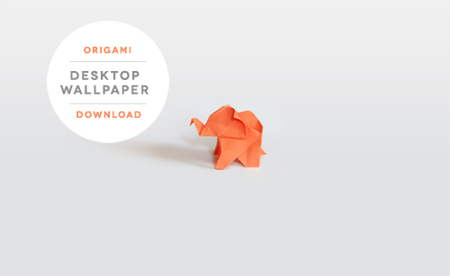 origami-elephant-wallpaper