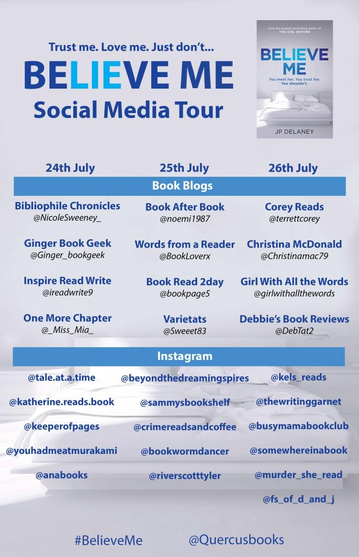 Social media tour poster